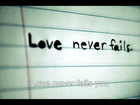 Brandon Heath - Love Never Fails