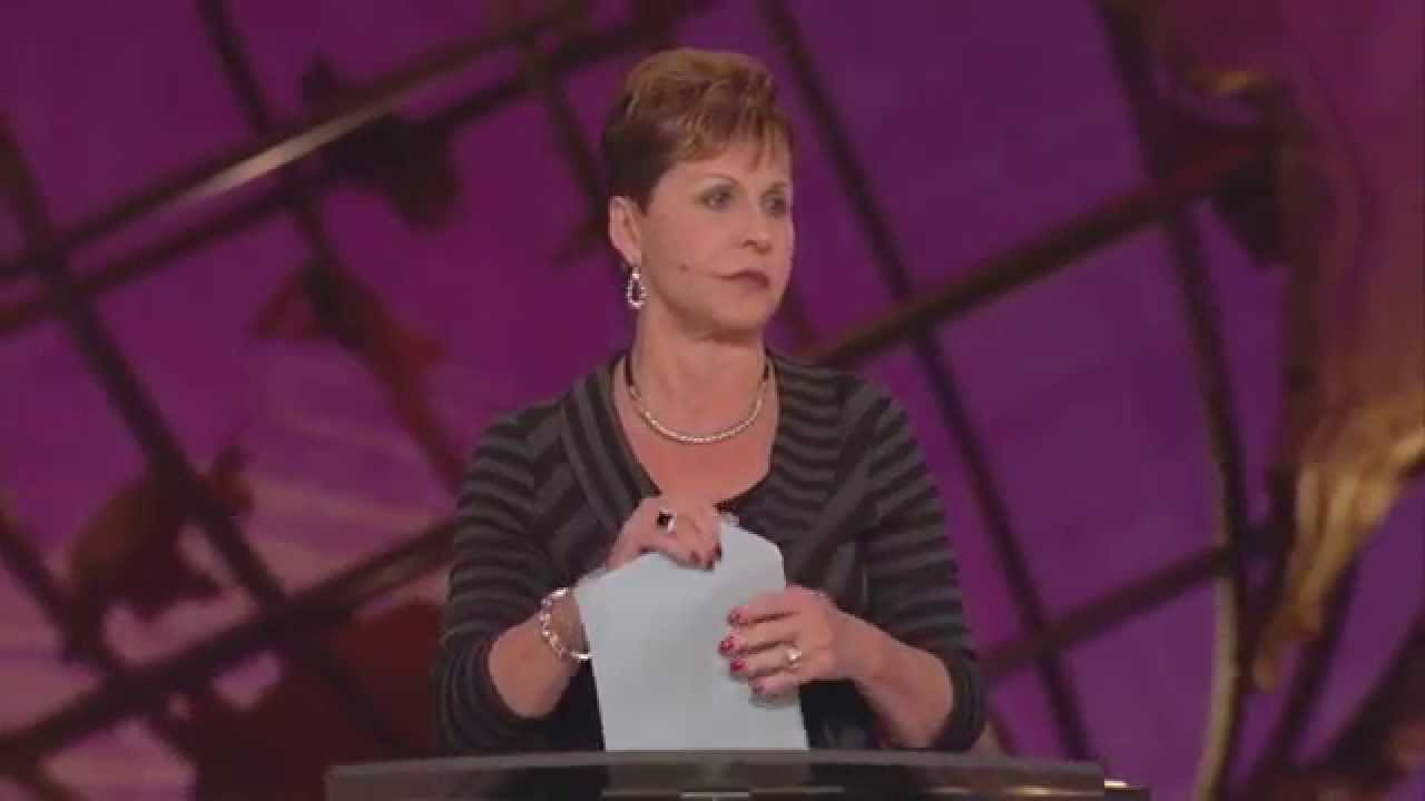 Joyce Meyer - Focus on The Positive Things in Life