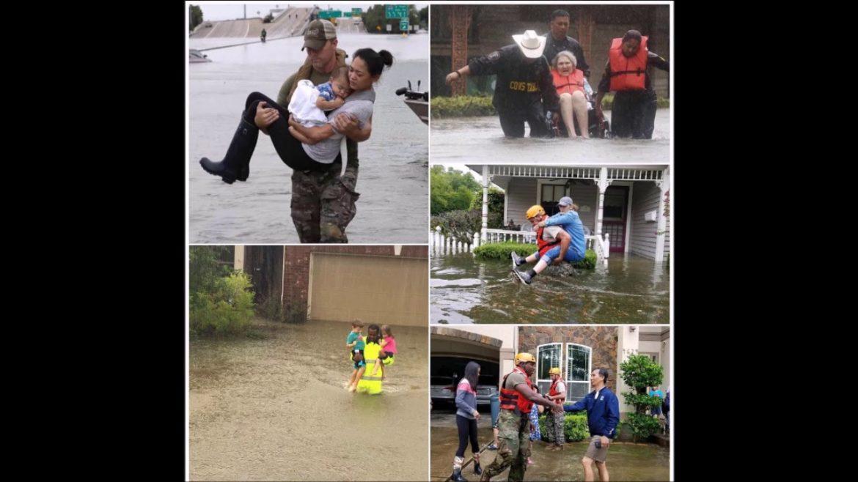 Pray for Houston Texas, Hurricane Harvey causes floods