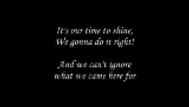"""What we gonna do?"" By TobyMac"